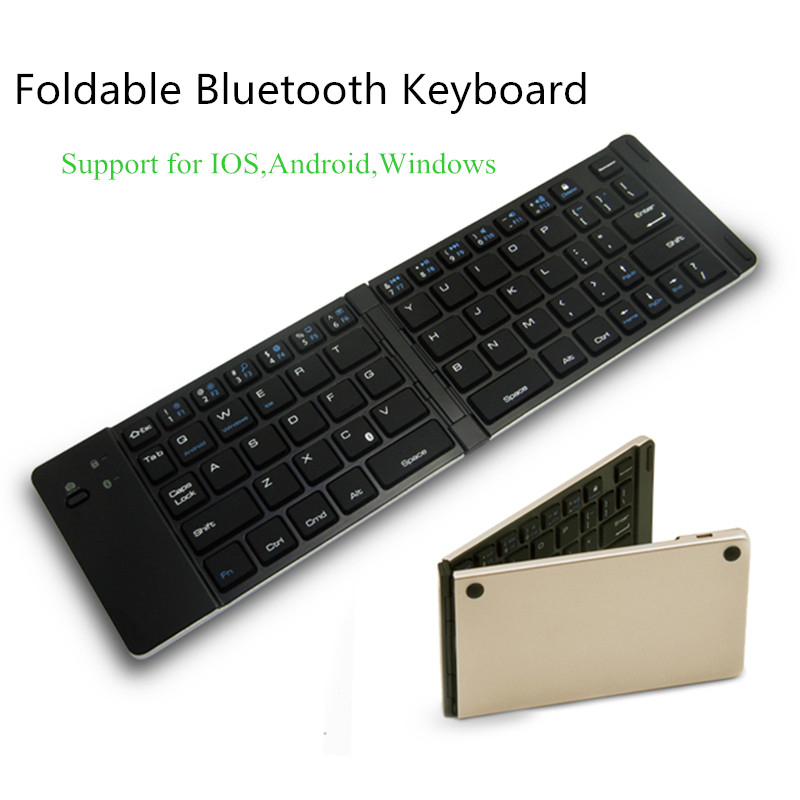 Best Ultra Slim Wireless Bluetooth Keyboard For IOS Android Tablet PC Windows Mini Portable