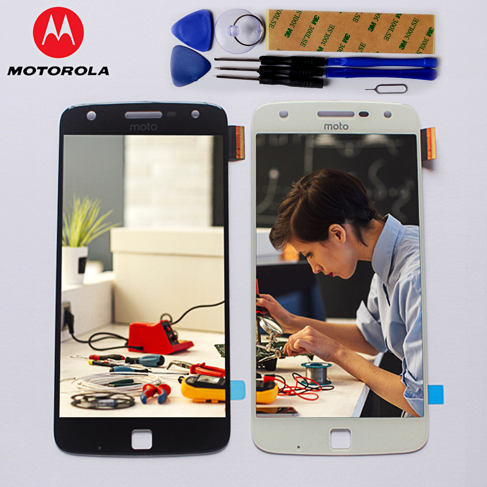 100% Original LCD Display For Motorola Moto Z Play  XT1635  Touch Screen Digitizer 5.5 inch 1920*1080  assembly Free Tools -in Mobile Phone LCDs from Cellphones & Telecommunications on Aliexpress.com | Alibaba Group