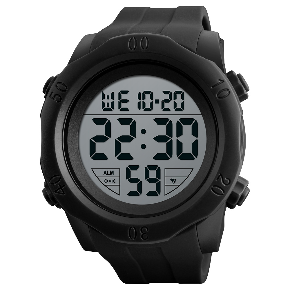 Skmei Brand Men Sports Watches Fashion LED Digital Military Watch Dive Swim Outdoor Waterproof Wrist Watch Clock Men 2018 New