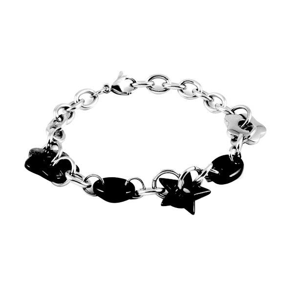 V-62 Trendy Wholesale Cheap Men/Women Gift Bracelet 316L Stainless Steel Lover's Party Bracelet Bangle Jewelry