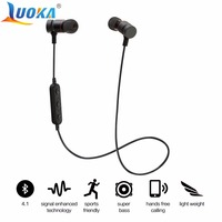 LUOKA HT9 Bluetooth Headphones Sport Running With Mic Earbud Wireless Earphones Bass Bluetooth Headset For IPhone