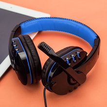 USB 3.5mm Wired Stereo Gaming Headphone Earphone W/ MIC For PC Laptop Gamer