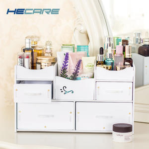 HECARE Plastic Jewelry Container for Cosmetic Storage