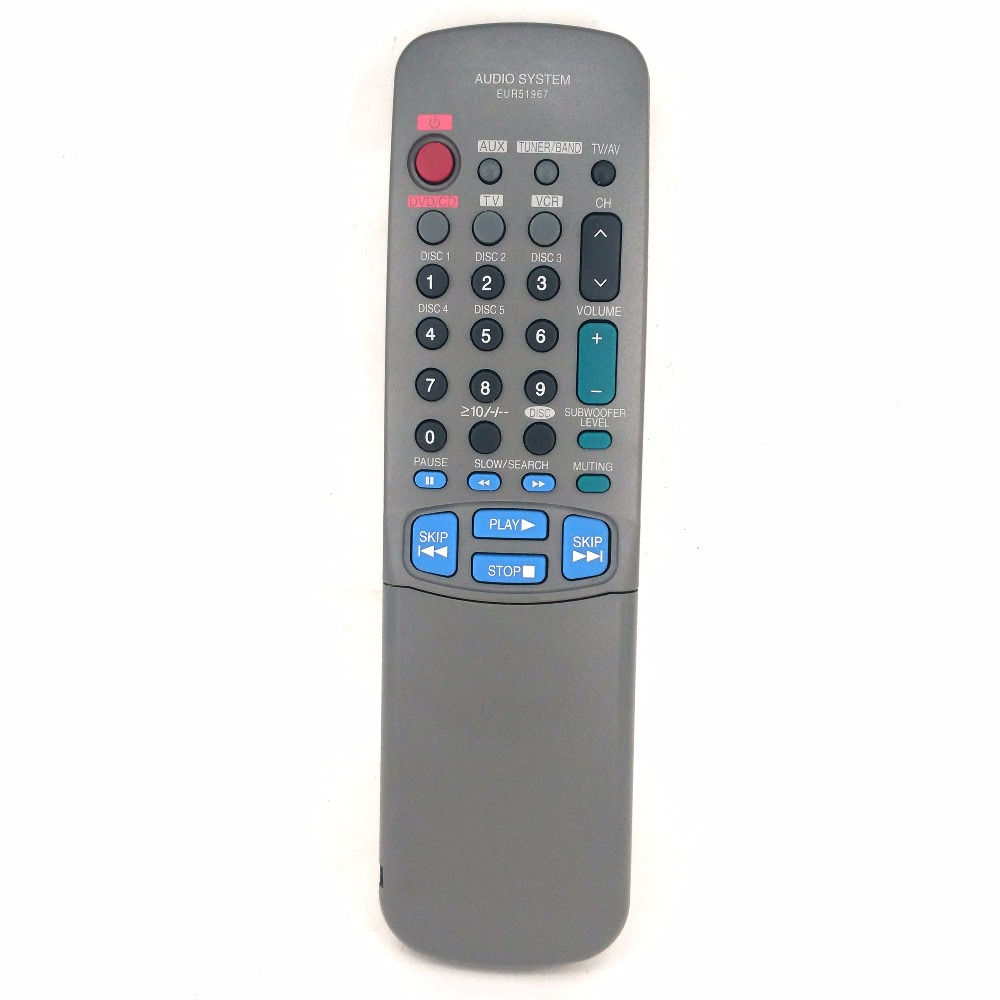 Original Use For PANASONIC AUDIO SYSTEM DVD / CD / TV /AV remote controller EUR51967 american more level 3 workbook with audio cd