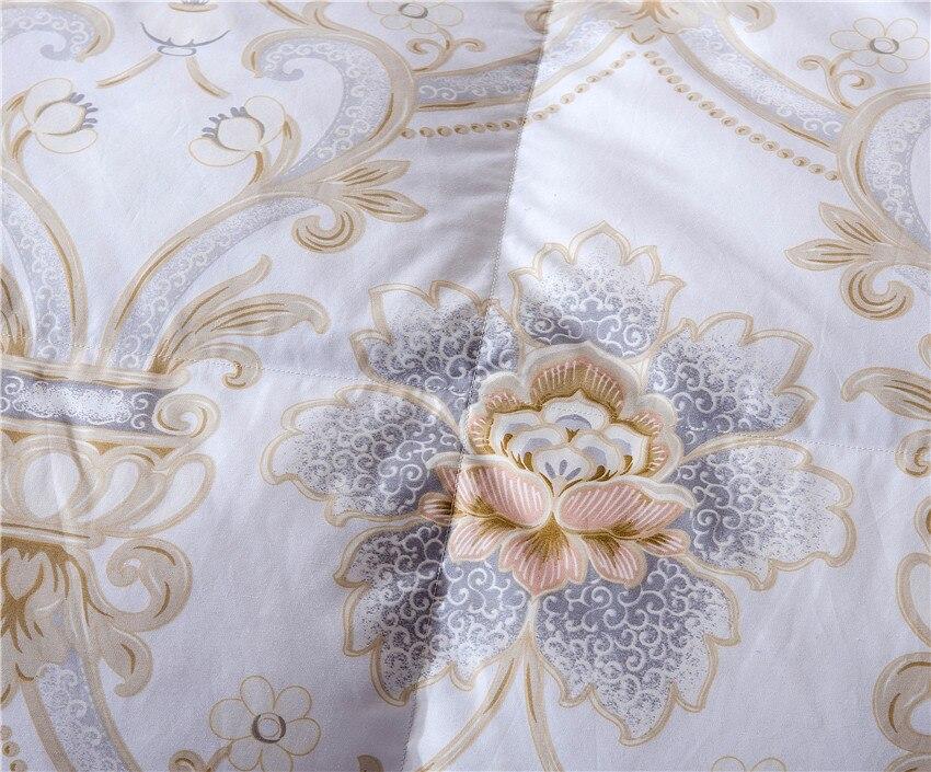 King Queen Twin ขนาด 100% Goose Down ผ้านวมคลุมเตียง Filler ชุดผ้านวมโยนผ้าห่มสำหรับเด็กผู้ใหญ่-ใน ผ้ารองผ้าห่มและผ้านวม จาก บ้านและสวน บน   2