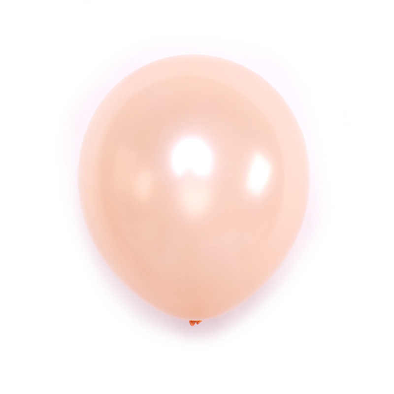 Rose Gold Latex Balloon 10 Inch Pearl Balloon Champagne Cross Border Party Decoration