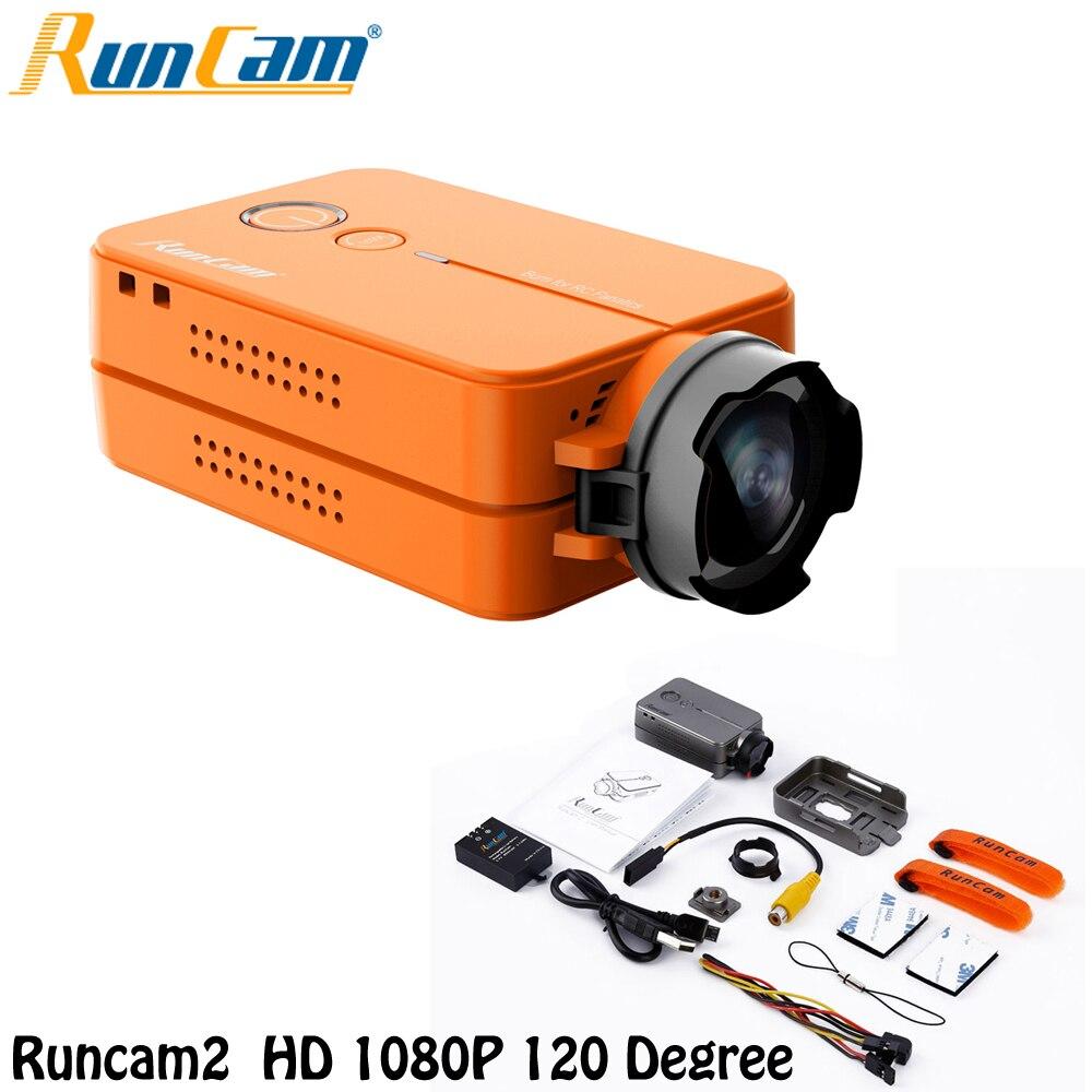 Ormino RunCam 2 Cámara V2 RunCam2 HD 1080 p 120 grados de gran angular WiFi FPV cámara para RC QAV210 250 quadcopter FPV Multicopter