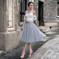 In Stock Short Tulle Petticoat Crinoline Wedding Bridal Petticoat For Wedding Dresses Underskirt Rockabilly Tutu Prom