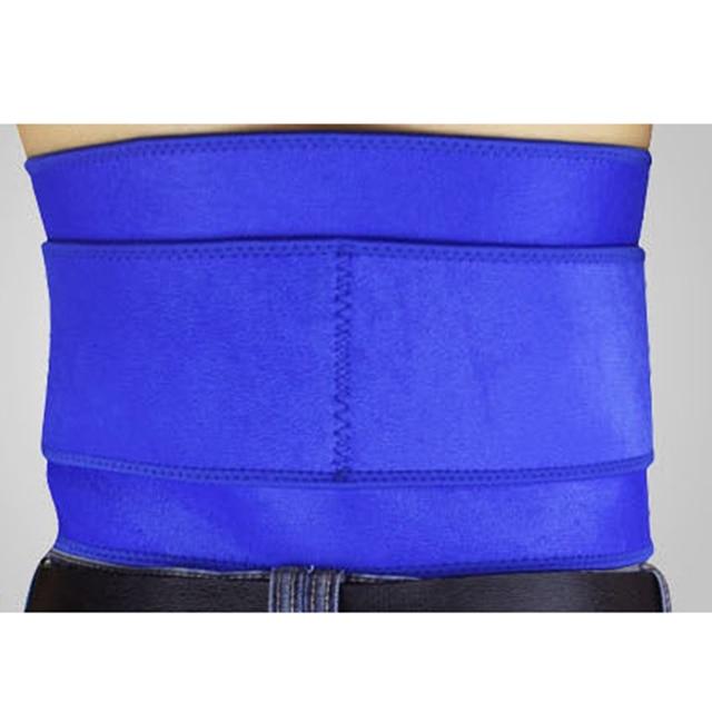 Adjustable Waist Support Brace Trimmer Belt Protector Abdomen Tummy Shaper Trainer Band Wrapper for Gym Sports 2