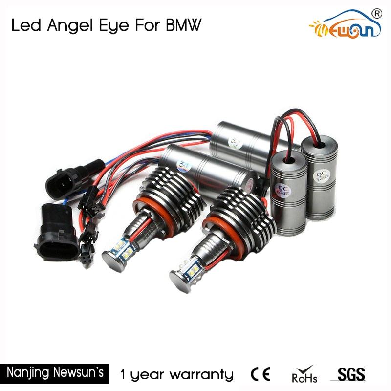 ФОТО 5sets/lot 40W canbus error free angel eyes H8 led marker for BMW X5 E70 X6 E71 E90 E91 E92 M3 E60 E93 wholesale price