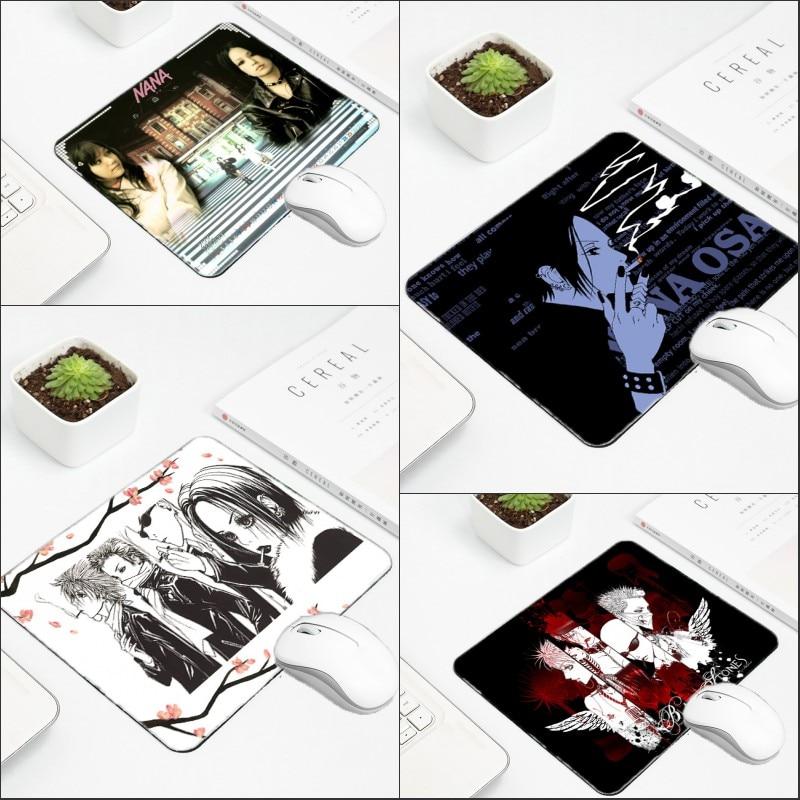 Mairuige аниме Нана обои печатных Mousepad противоскольжения износ резиновая Планшеты Pc Gamer коврик Oosaki Нана Прохладный шаблон компьютер pad