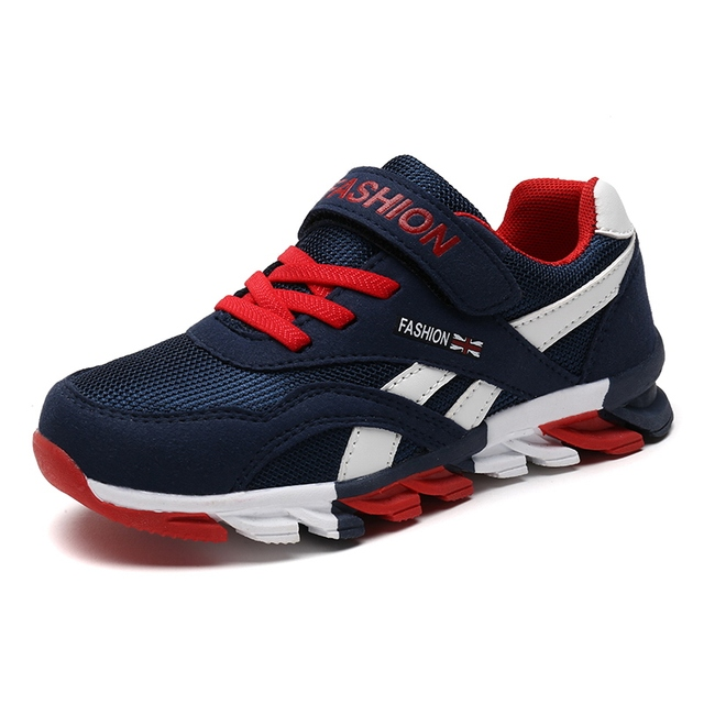 ef602af0dbb 2018 Spring New Kids Sneakers Boys Outdoor Blade Sole Sports Shoes  Anti-skidding Athletics Children Jogging Shoes Size 28-39