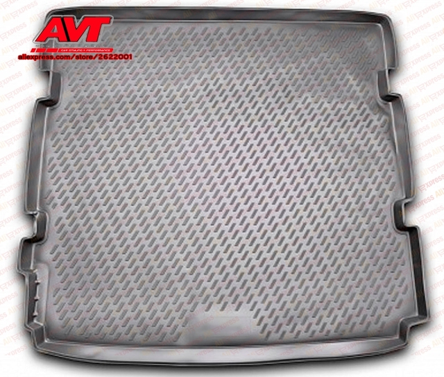 Trunk mats for Chevrolet Orlando 2011- 1 pcs rubber rugs non slip rubber interior car styling accessories