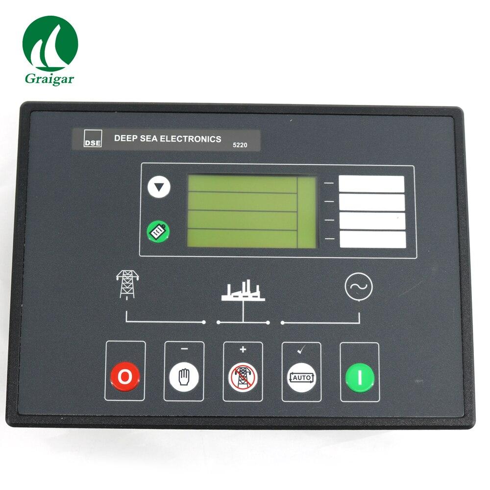 DSE5220 Deep Sea Original Generator Controller DSE5220 Diesel Genset  Control Panel Made in UK