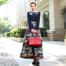big print fashion dress