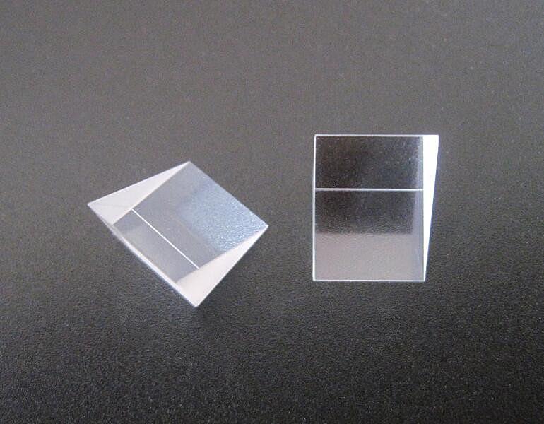 IUAM-35 высокого качества под прямым углом три призмы, отражатель линзы, размер: 35X35X35 мм, K9 стеклянные материалы, цвет: прозрачный