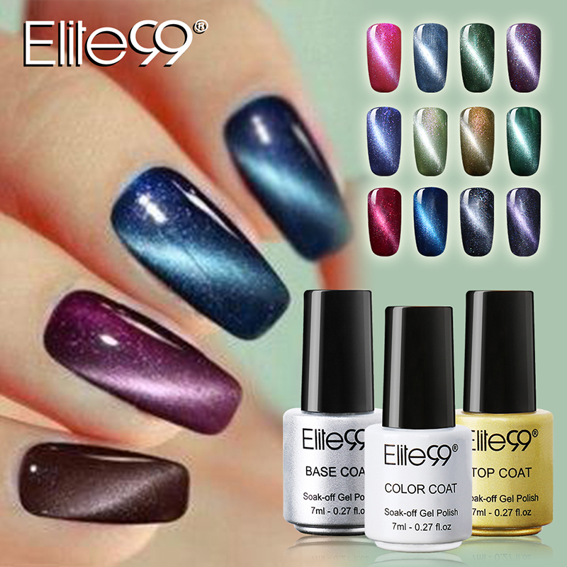 Elite99 7ml Uv Led Gel Cat Eye Gelpolish For Nail Eyes Polish Need