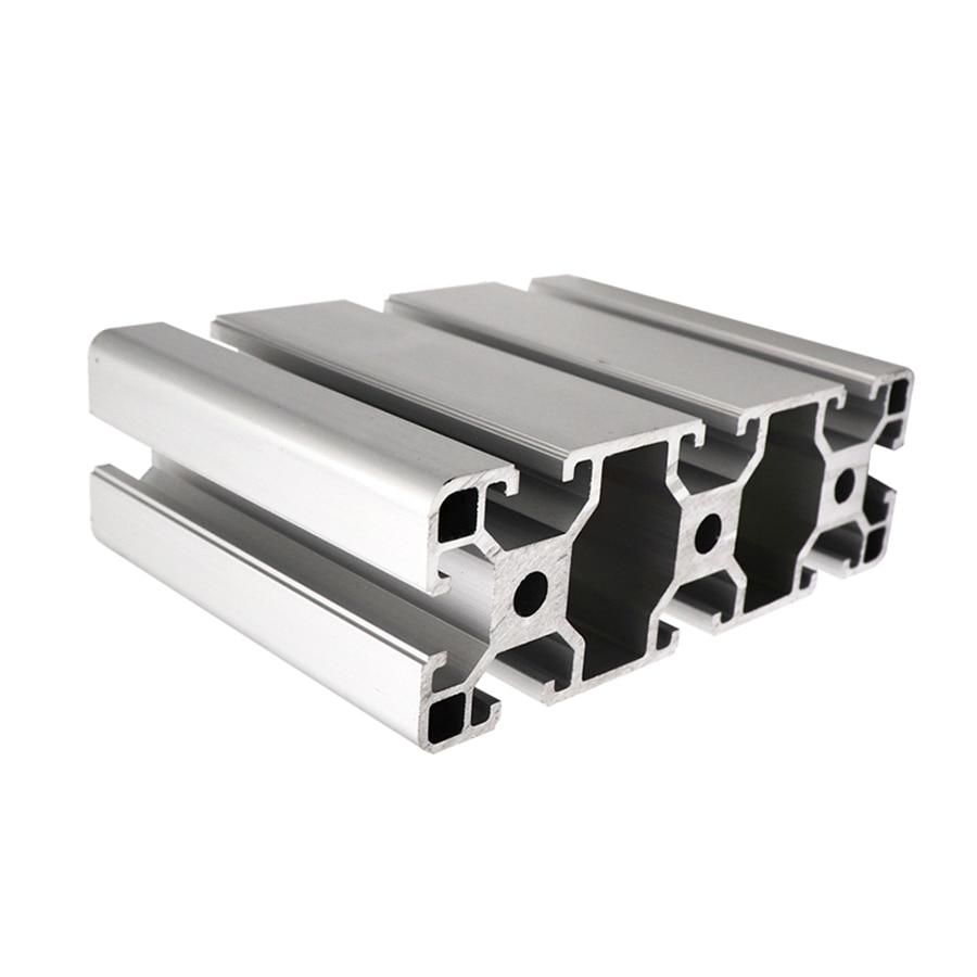 US $1 89  40x40 industrial custom diy aluminum profile hardware black 6063  anodized aluminium profile wholesale 40120-in Furniture Frames from