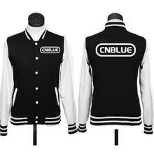 Высокое качество Корея музыкальная группа CNBLUE логотип куртки пальто бейсбольная форма с капюшоном Звезды товары