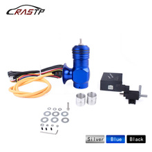 RASTP-Car Electrical Turbo Diesel Dump Valve Blow Off Valve Kits Vacuum Control RS-BOV037 rastp exhaust control valve set with vacuum actuator cutout 3 0 76mm pipe close style with wireless remote controller rs bov041
