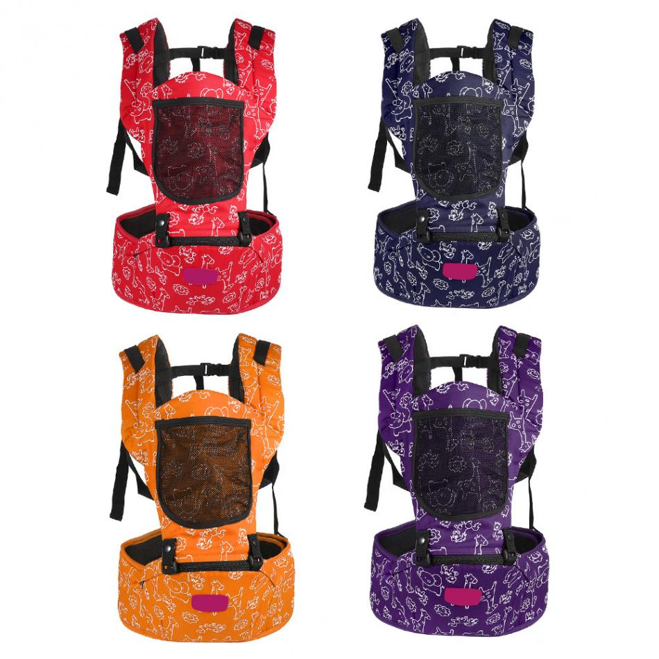 Ergonomic Breatheable Adjustable Ergonomic Baby Carrier Hip Seat For Newborn 3