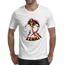 ZENKI T Shirt Nostalgic Manga Anime Casual Punk T-shirt Creative Brand Style Unisex Tee