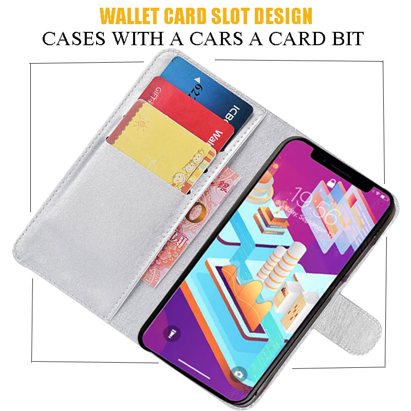 Fashion Bling Diamond Glitter PU Flip Leather Cover Case For Cubot Magic Power Rainbow 2 X18 Note Plus H2 J3 P20 R9 X15 X19 in Flip Cases from Cellphones Telecommunications