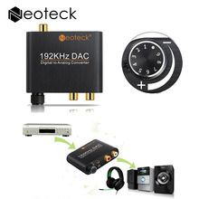 Digital to Analog font b Audio b font Converter Adapter Optic Coaxial Toslink Signal to Analog