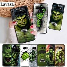 Lavaza Marvel Comic Superhero Hulk Painted Silicone Case for Samsung S6 Edge S7 S8 Plus S9 S10 S10e Note 8 9 10 M10 M20 M30 M40