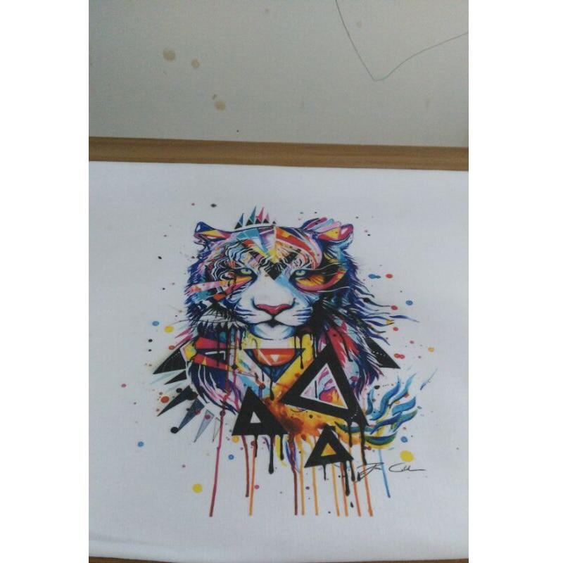 Avancerad ny design t-shirttryck billigt t-shirt tryck a3 6 färg - Kontorselektronik - Foto 3