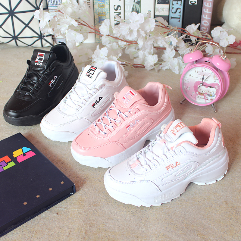 2019 Femmes Chaussures Automne Blanc Chaussures Sneakers Femmes Marque De Mode Rétro Plate-Forme Chaussures chaussures pour dames Respirant Espadrilles de Maille