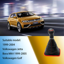 Car Gear Shift Knob Applicable to 1999-2004 Volkswagen Jetta Bora MK4 and 1999-2005 Golf GTI/R32/MK4 Car Change Speed Device