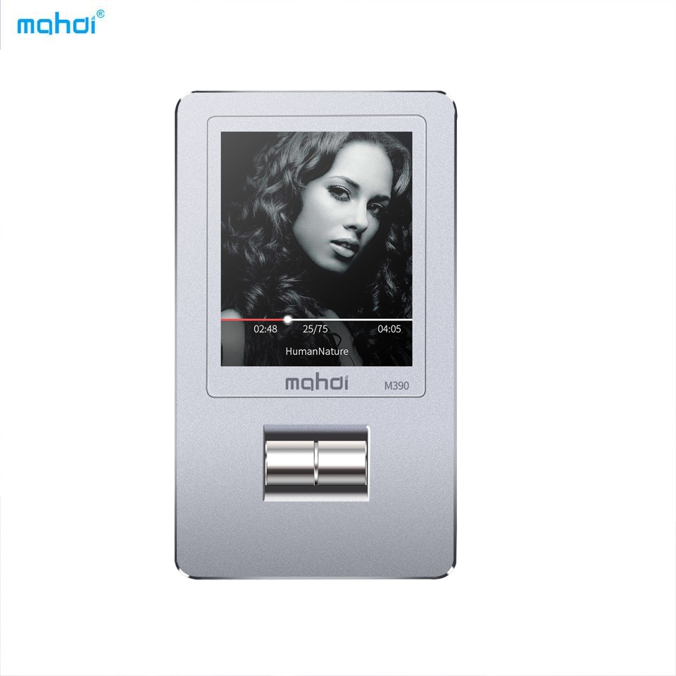 Mahdi Metal MP3 Player Lossless Hifi Music Player 8G Mechanical Wheel MP3 Support Variable Speed Playback LRC TF FM Video Ebook