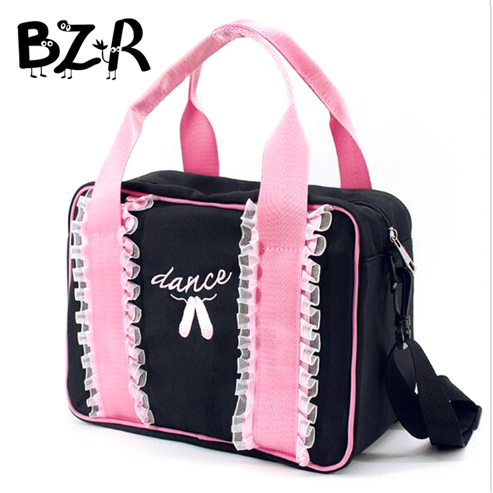 Bazzery Ballet Bag Lace Dance Bags Girls Adults Dance Handbag Child Ballet Dance Bag Embroidered Ballerina Bag For Kids/Women