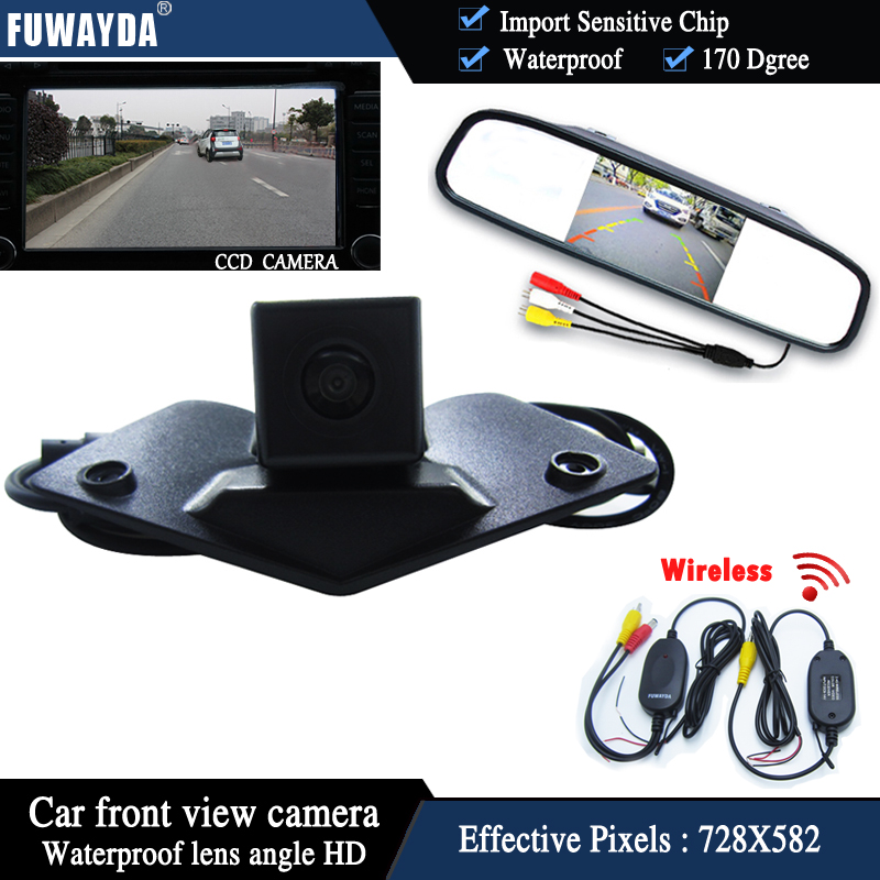FUWAYDA Car front View Monitor Vision ccd front view font b Camera b font for Benz