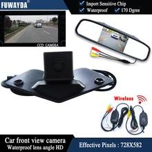 Fuwayda автомобиль вид спереди Мониторы + видения CCD вид спереди Камера для Mercedes Benz Vito vianoa b c e g GL SLK GLK SL R gla CL cla AMG