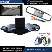 FUWAYDA Car front View Monitor+Vision ccd front view Camera for Benz Mercedes Vito VianoA B C E G GL SLK GLK SL R GLA CL CLA AMG