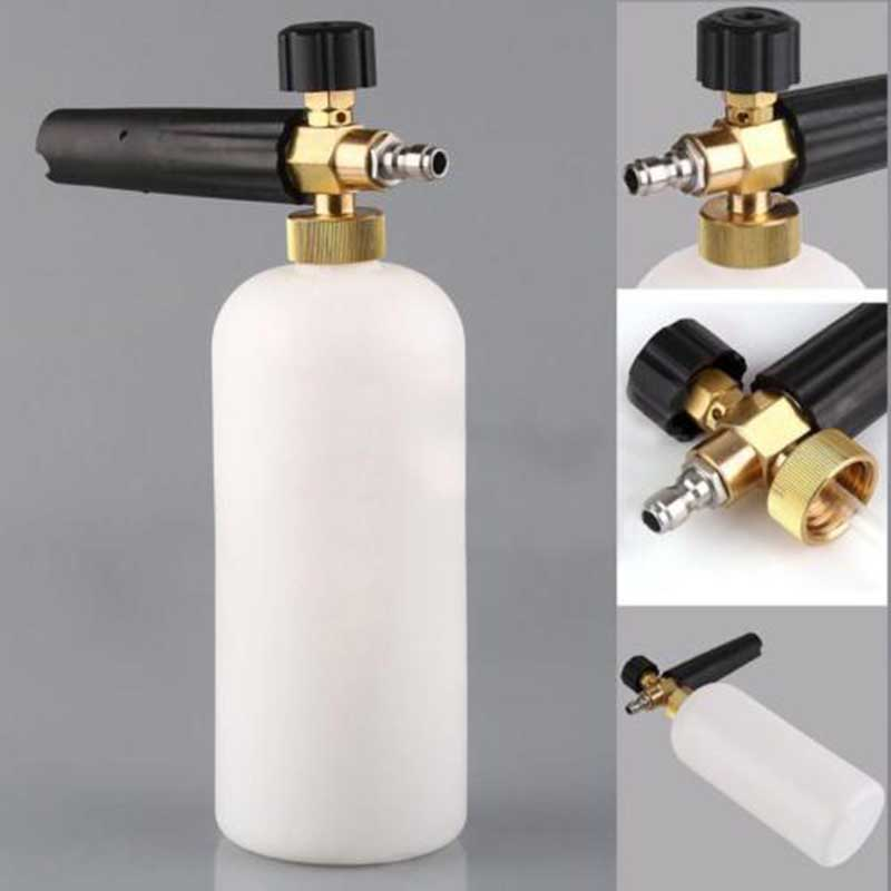 High Pressure Car Washer Adjustable Snow Foam Lance Bottle Car Washing Tools Soap Pressure Washer Sprayer Car Cleaners