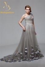 Bealegantom модное платье на одно плечо с аппликацией в виде