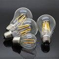E27 220 V-240 V De Vidro Edison Filamento da Lâmpada 4 W 8 W 12 W 16 W Luzes LED Lustre Lâmpada Incandescente Igual Iluminação Frio/Quente branco