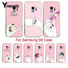 Yinuoda Moon Spells Makeup Best Friend Unique Design Newest Fashion phone Case For samsung galaxy s9 s8 plus s6 s7 edge plus s5