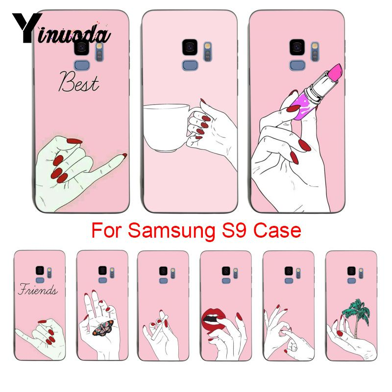 Half-wrapped Case Cellphones & Telecommunications Hard-Working Yinuoda Moon Spells Makeup Best Friend Unique Design Newest Fashion Phone Case For Samsung Galaxy S9 S8 Plus S6 S7 Edge Plus S5 Preventing Hairs From Graying And Helpful To Retain Complexion