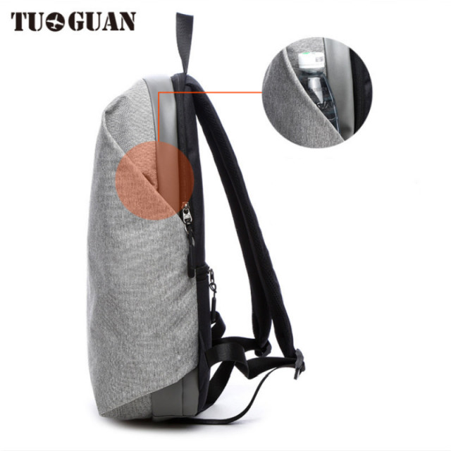 17 Inch Anti Theft Laptop Backpack Waterproof Men Business Packback Notebook Backpack 15.6 inch Compute Travel Bag Big Capacity  4