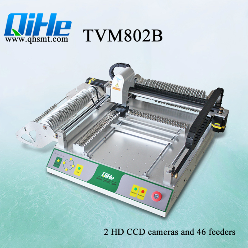 TVM802B SMD Components High Precision Pick and Place Machine Desktop P&P Machine