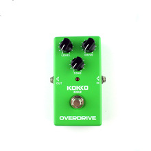 KOKKO KO2 Vintage Tube Overdrive Guitar Effects Pedal Analog Overdrive Guitarra Effects High Gain Booster True Bypass Parts