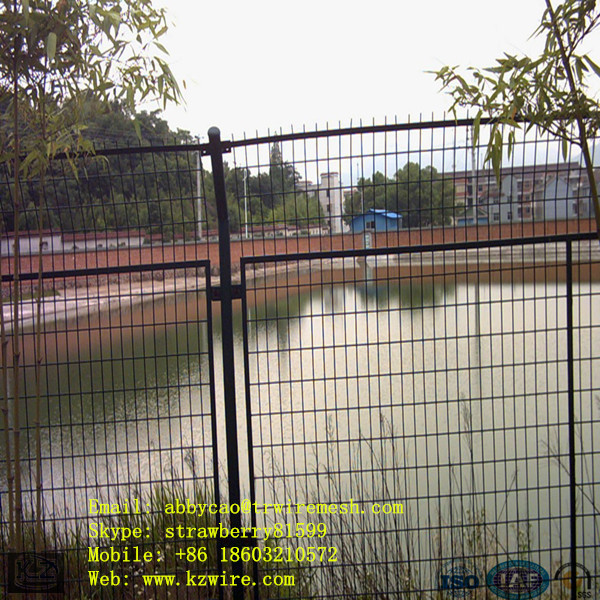 Black Vinyl Coated Wire Mesh Fence For Lake ( Frame ) on Aliexpress ...