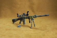 1/6 Weapons Model Camo Sniper Rifle Gun  MK11 MOD0 Model Toys For 12″ Army Solider Action Figure