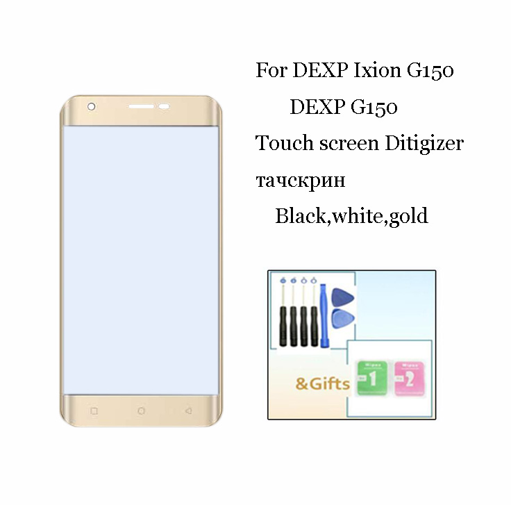 New 5.0inch For DEXP G150 Touch Screen Glass Sensor Panel Lens Glass Digitizer For DEXP Ixion G150 Cell Phone