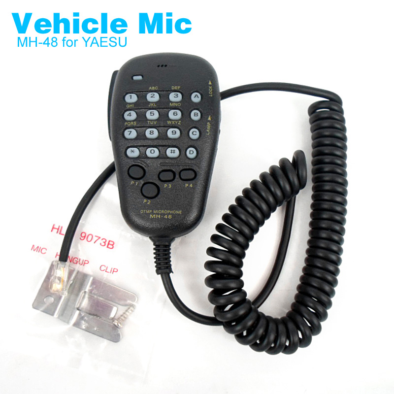 MH-48 Vehicle Radio Microphone For YAESU FT7800R FT7900R FT8800R FT-8800 FT8900R FT1807 FT-2900R FT-2800M FT-7100M Walkie Talkie