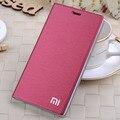 7 cores de marca original Xiaomi Red Rice Redmi nota 5.5 '' 4 G titular do cartão flip phone móvel caso capa protetora frete grátis